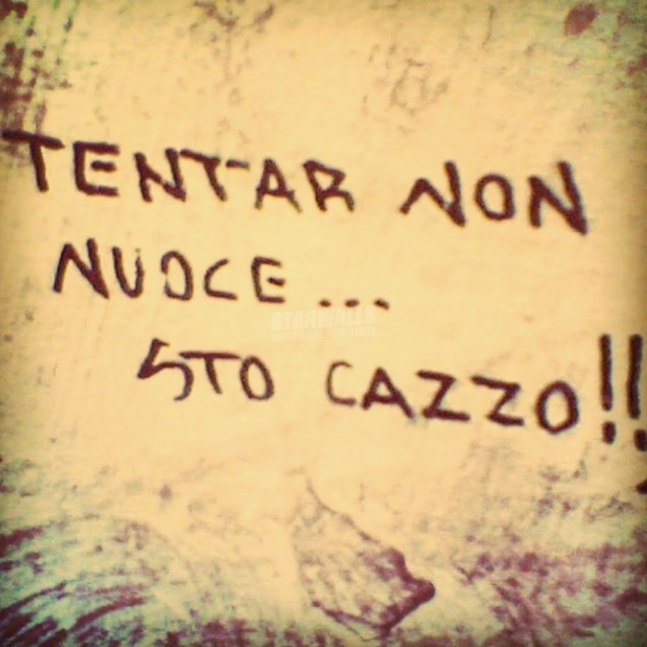 Scritte sui Muri Provaci, dicevano ...