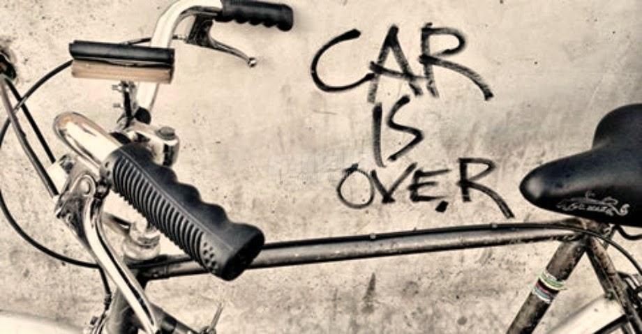 Scritte sui Muri Lasciateci pedalare