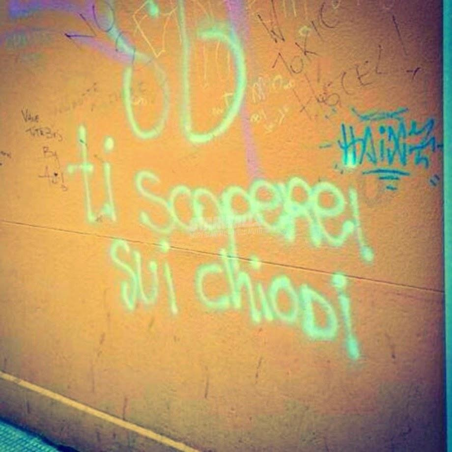 Scritte sui Muri Ma con grande coinvolgimento emotivo ...