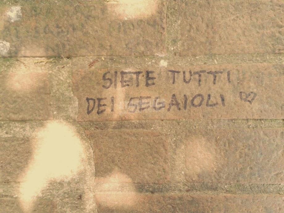 Scritte sui Muri Onanisti