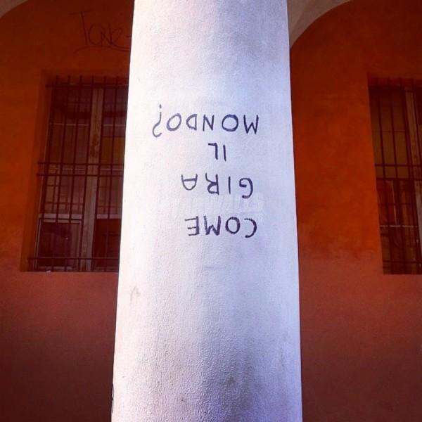 Scritte sui Muri Al contrario