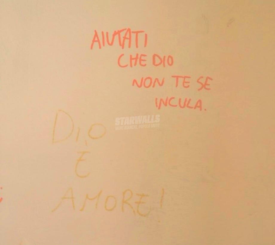 Scritte sui Muri Rimboccati le maniche