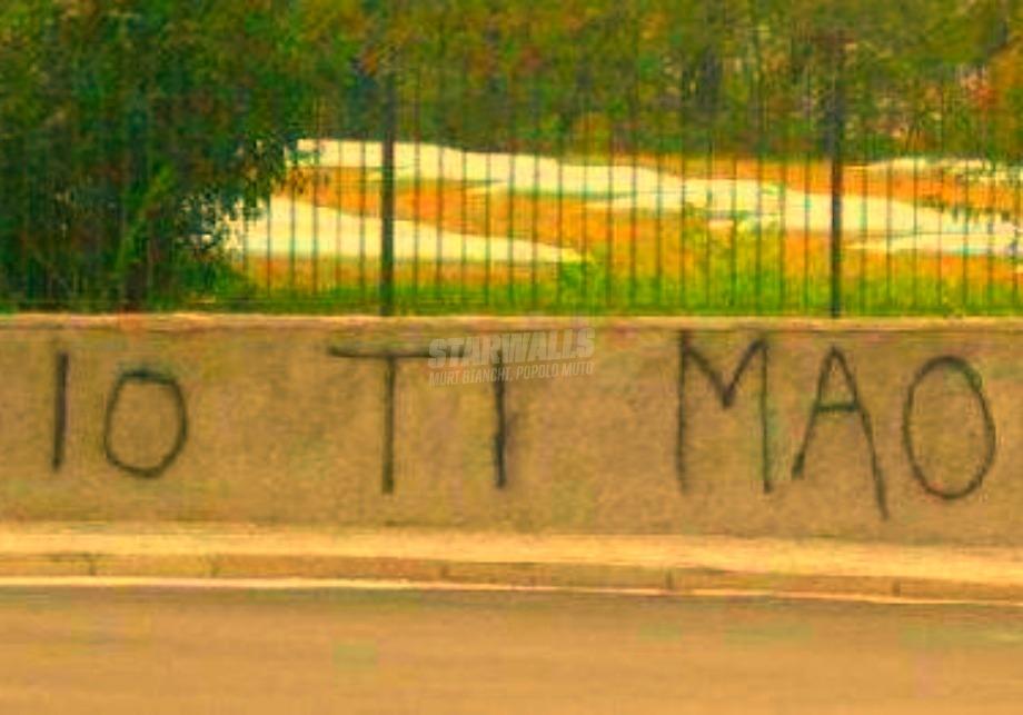 Scritte sui Muri Amore dislessico