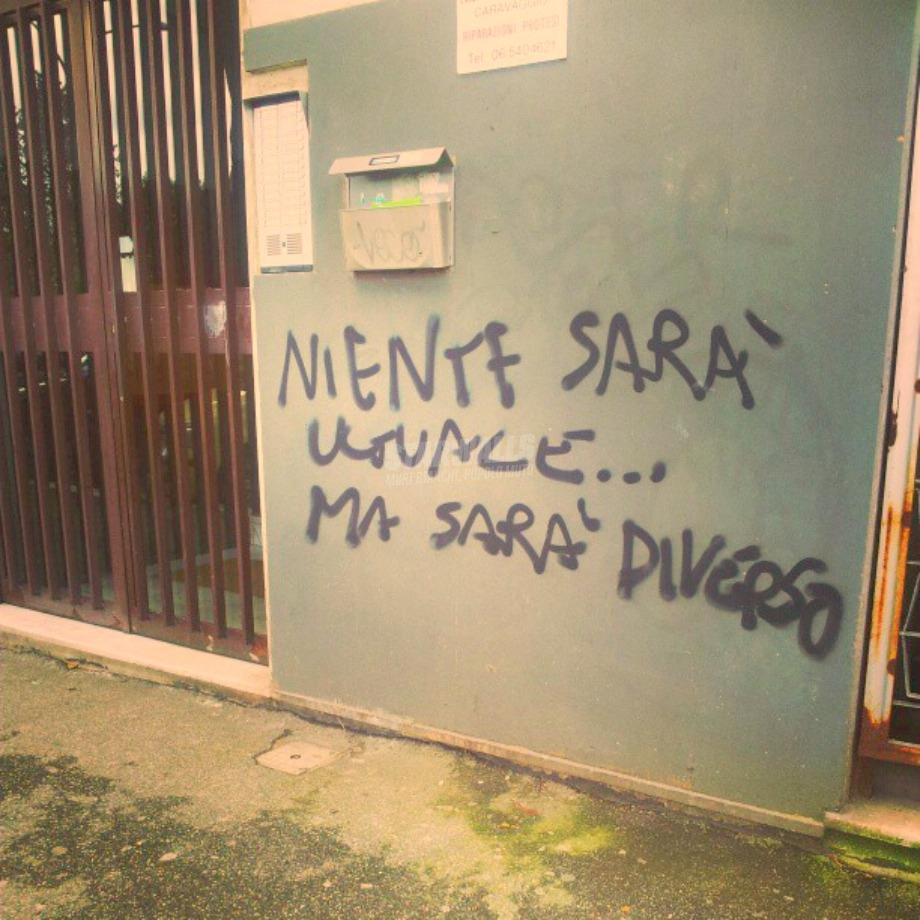 Scritte sui Muri Non fa una grinza
