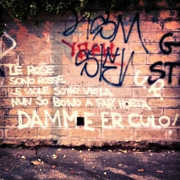 Scritte sui Muri Romanticismo da marciapiede