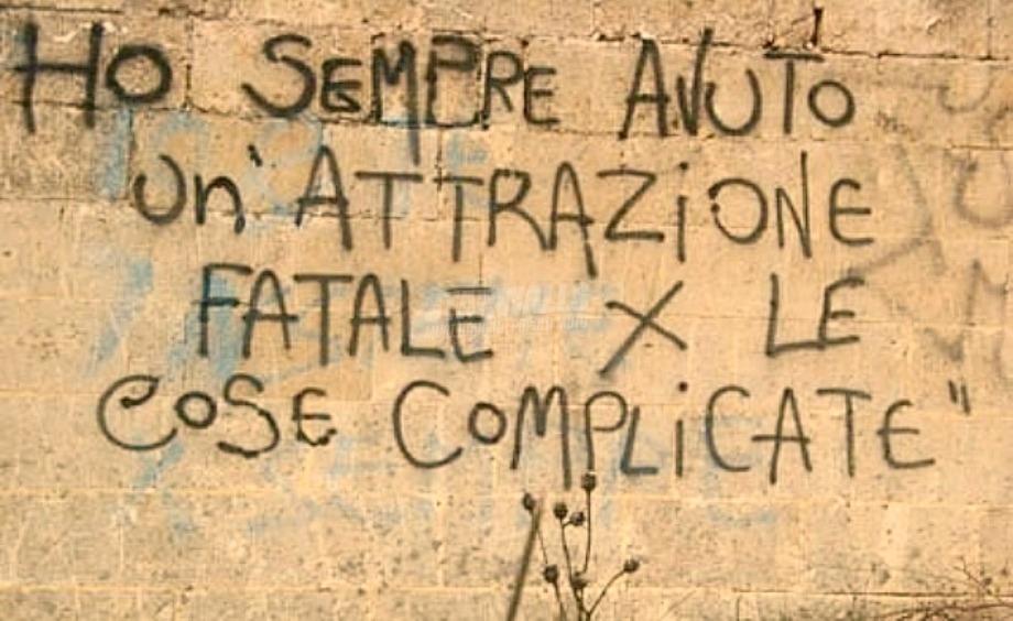 Scritte sui Muri Malìa