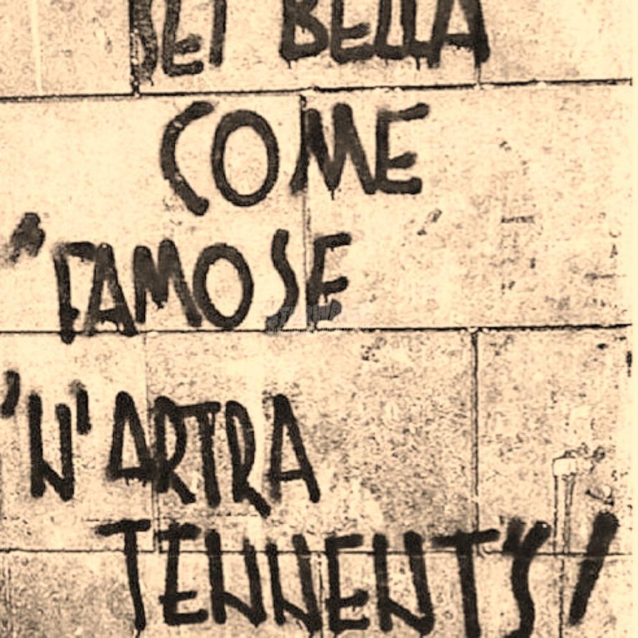 Scritte sui Muri Provolone
