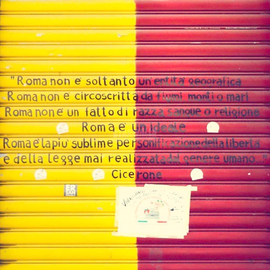 Scritte sui Muri Roma