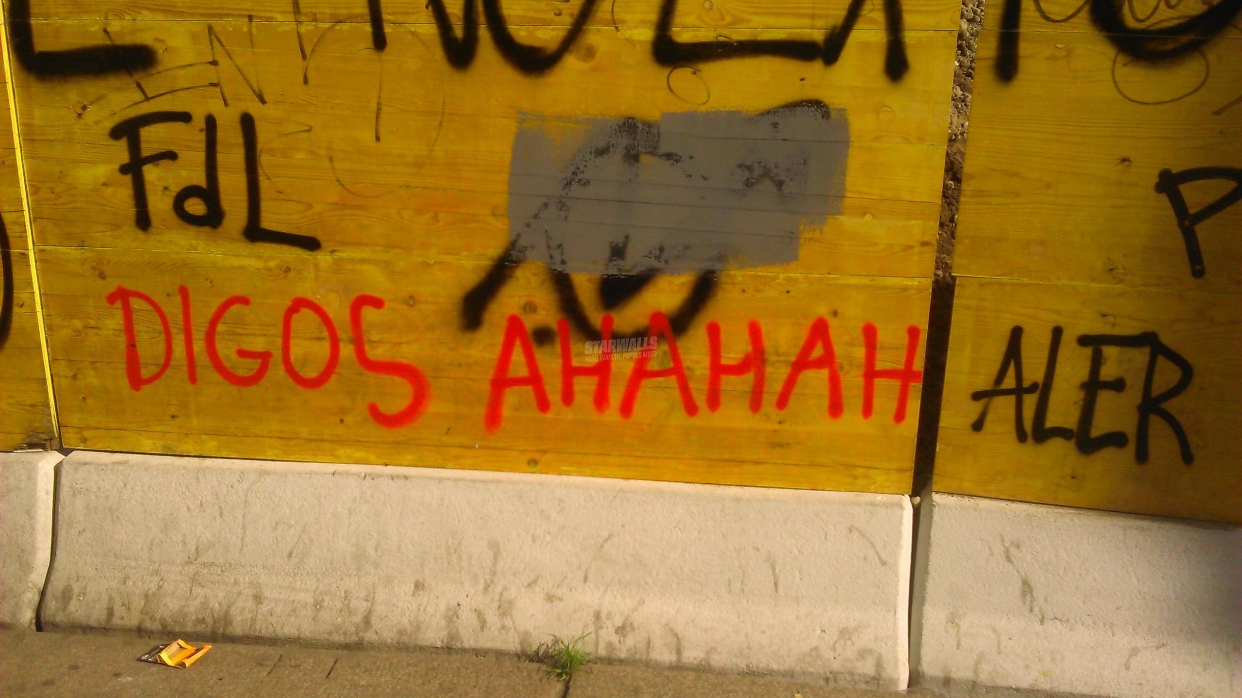 Scritte sui Muri Grosse risate