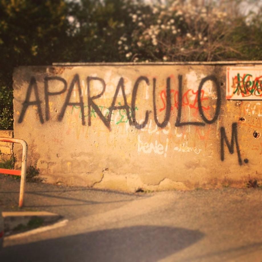 Scritte sui Muri Furbacchione!