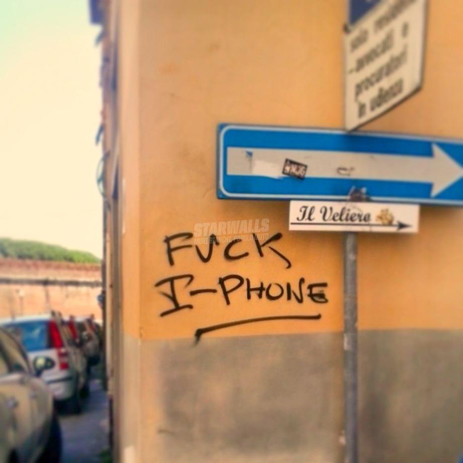 Scritte sui Muri iPhone Day