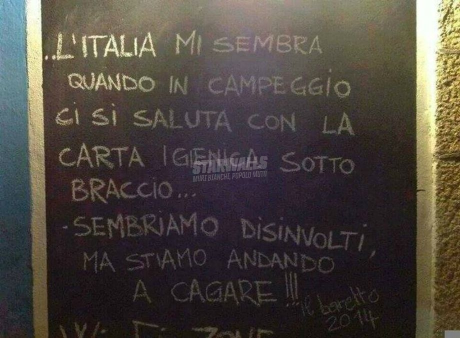 Scritte sui Muri This is Italy