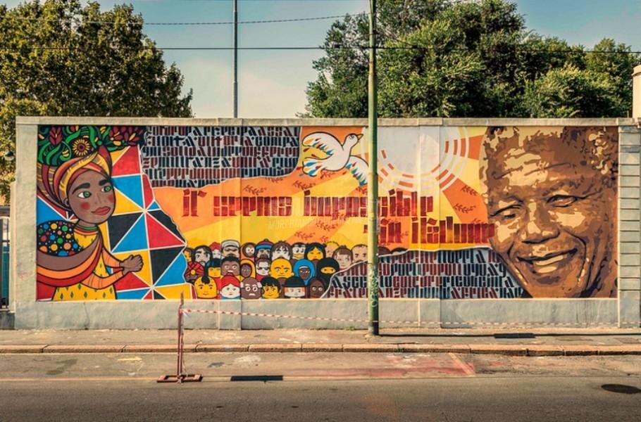 Scritte sui Muri Mandela Day