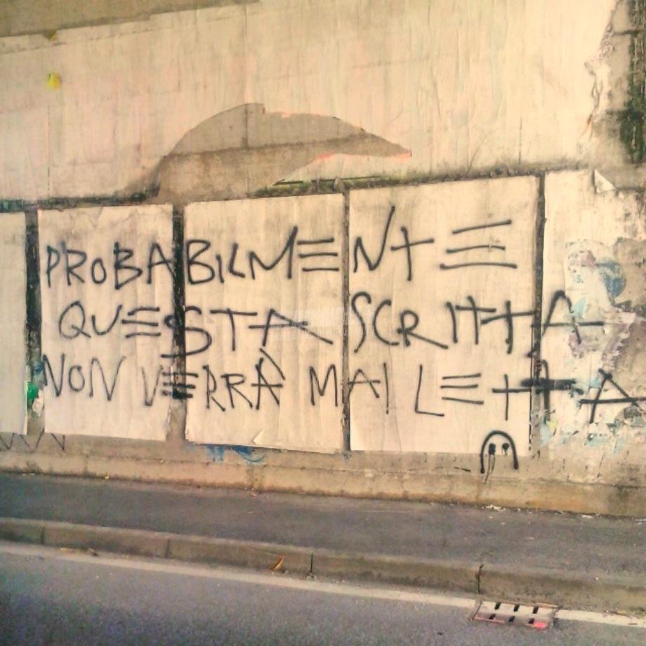 Scritte sui Muri Pessimista