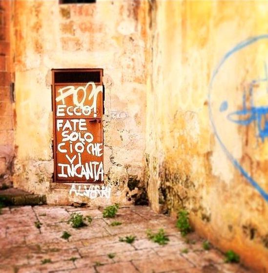 Scritte sui Muri Prima il piacere