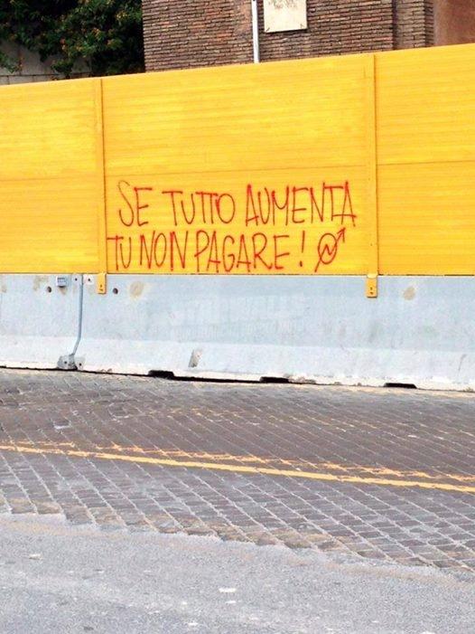 Scritte sui Muri Resistenza