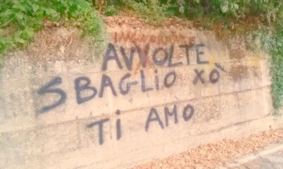Scritte sui Muri Talvolta