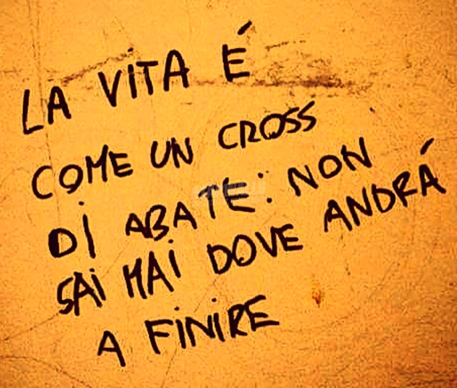 Scritte sui Muri That's life
