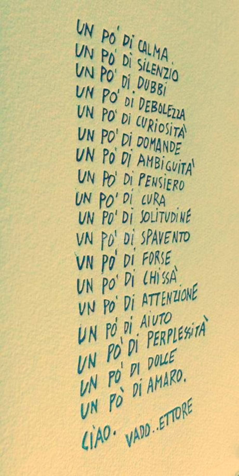 Scritte sui Muri Un pò