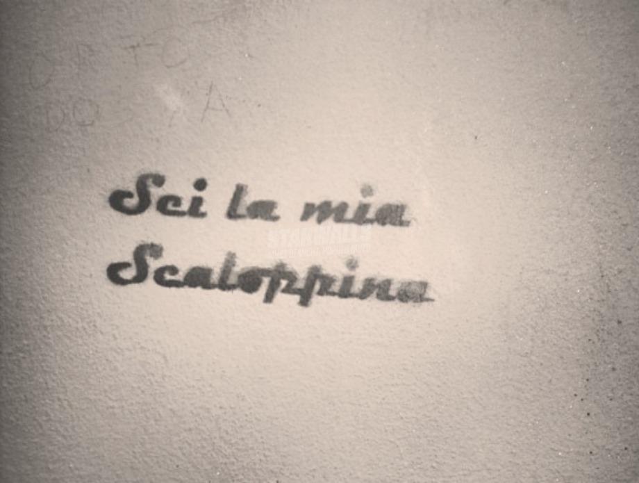 Scritte sui Muri Al limone