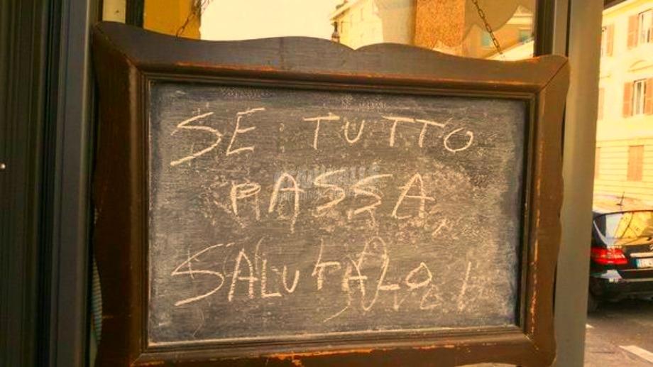 Scritte sui Muri Bar saggio
