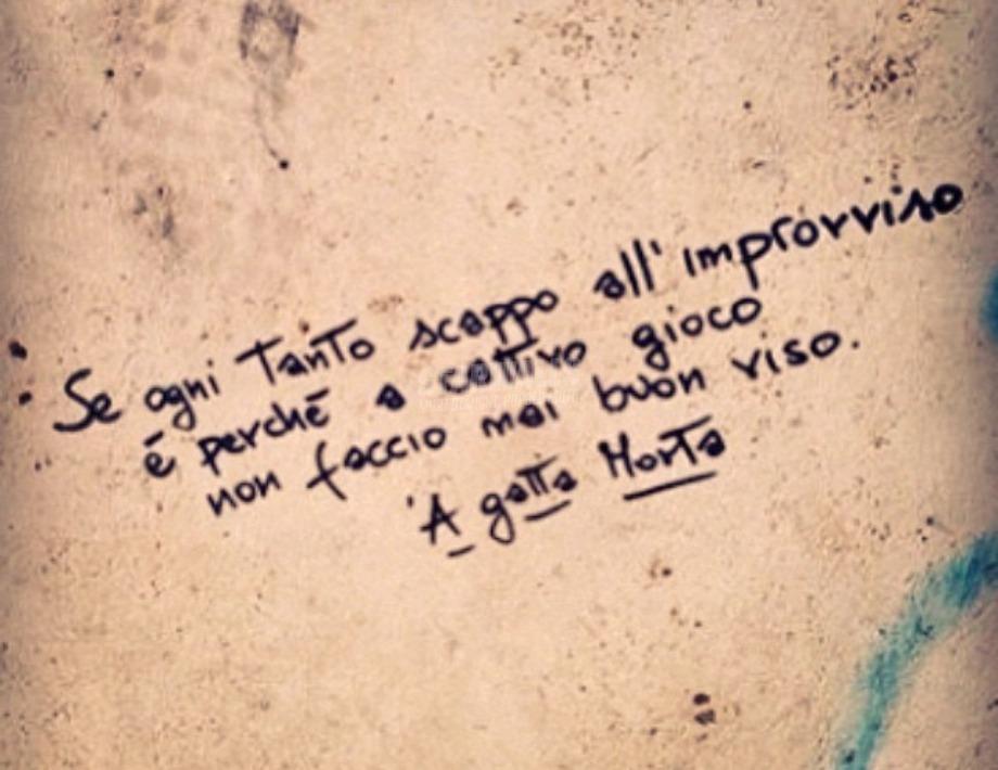 Scritte sui Muri Io non mi adeguo