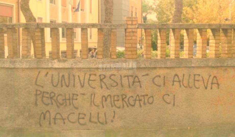 Scritte sui Muri Università e mondo del lavoro