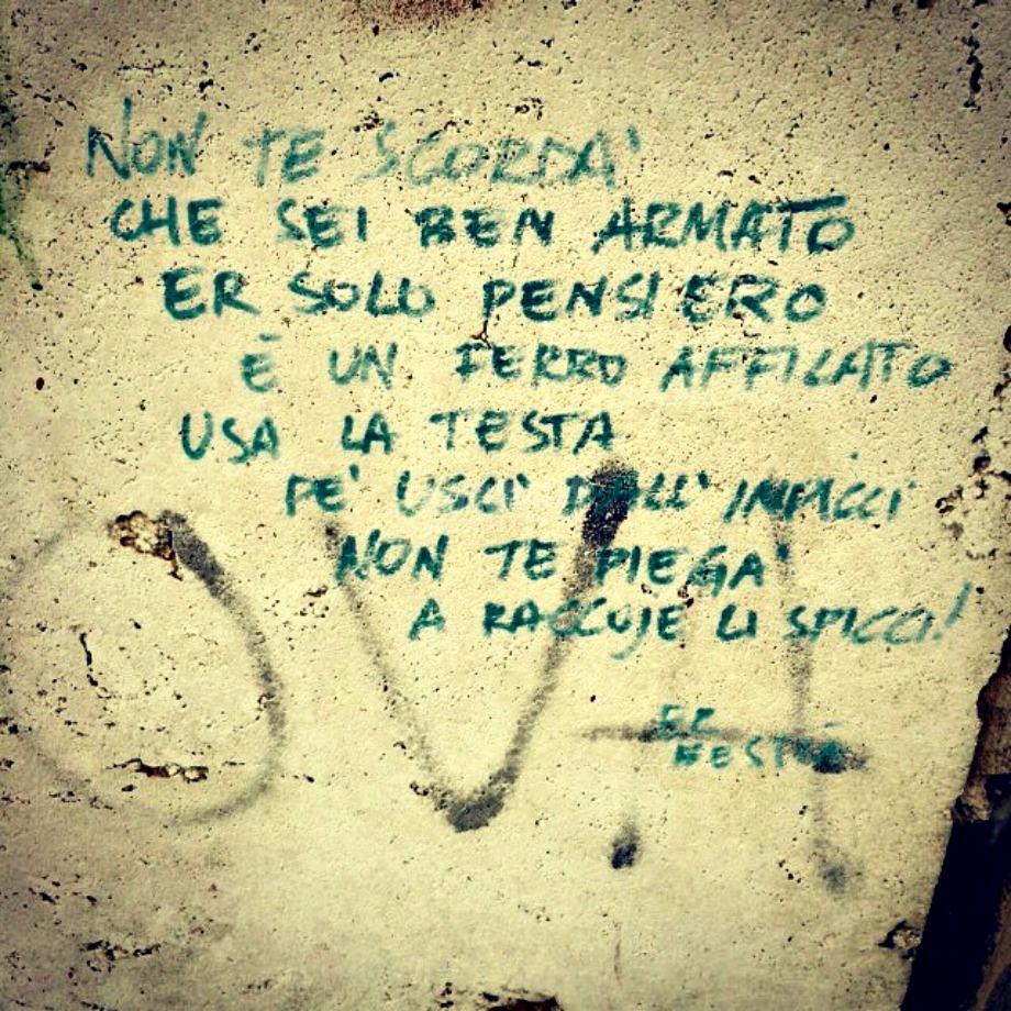 Scritte sui Muri Armigero