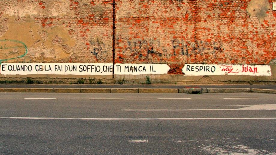 Scritte sui Muri L'attimo