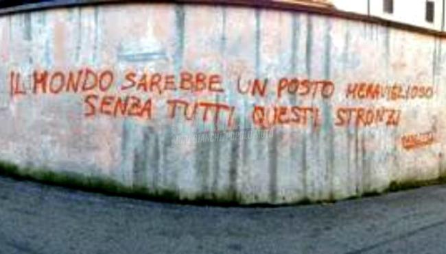 Scritte sui Muri Wonderful world