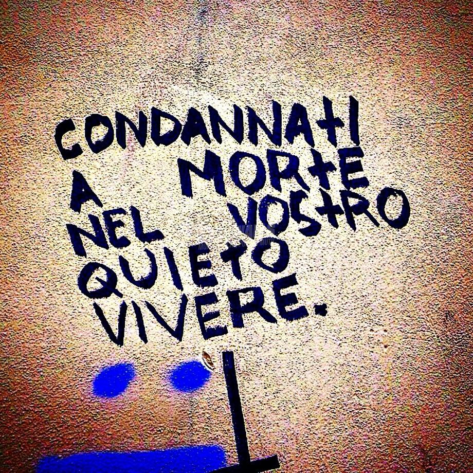 Scritte sui Muri Dead man walking