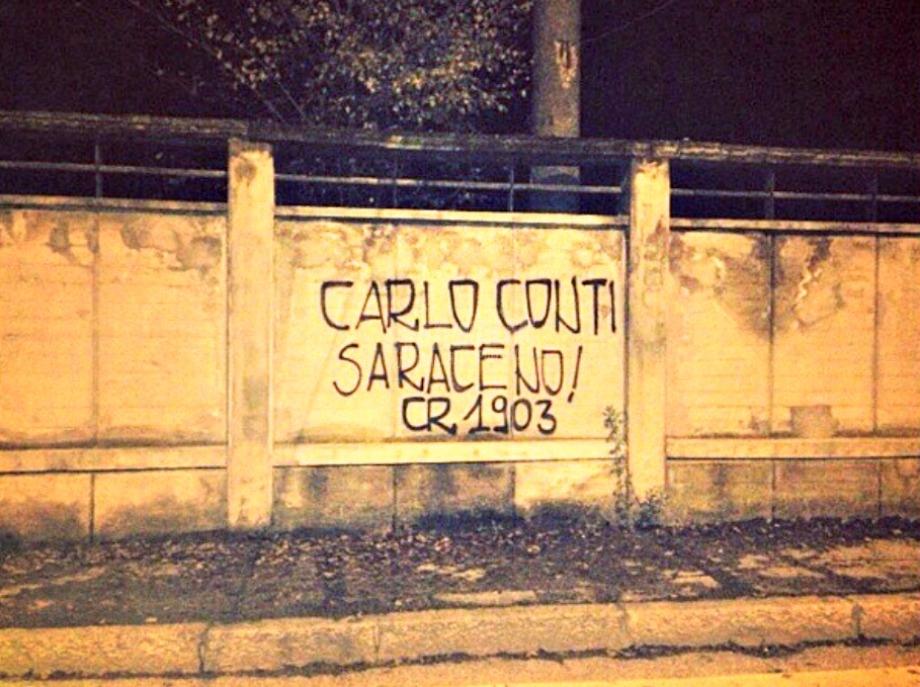 Scritte sui Muri Il moro