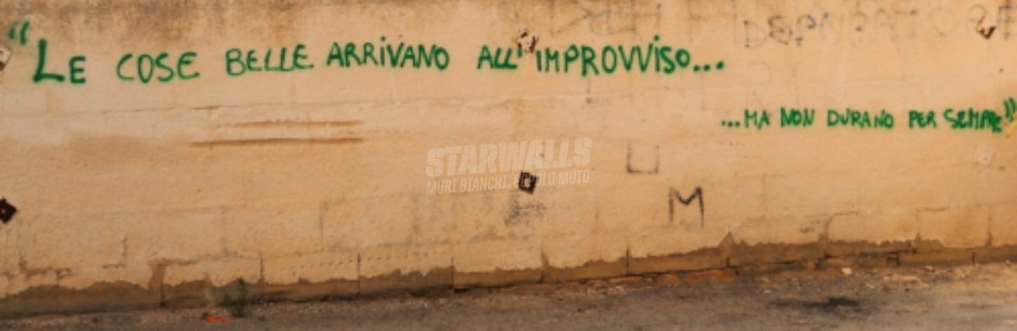 Scritte sui Muri Tutto scorre