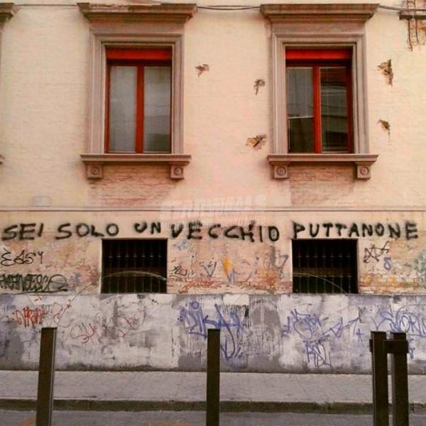 Scritte sui Muri La volpe e l'uva