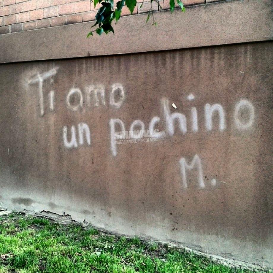 Scritte sui Muri Mai sbilanciarsi