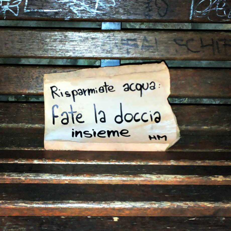 Scritte sui Muri Parsimonia