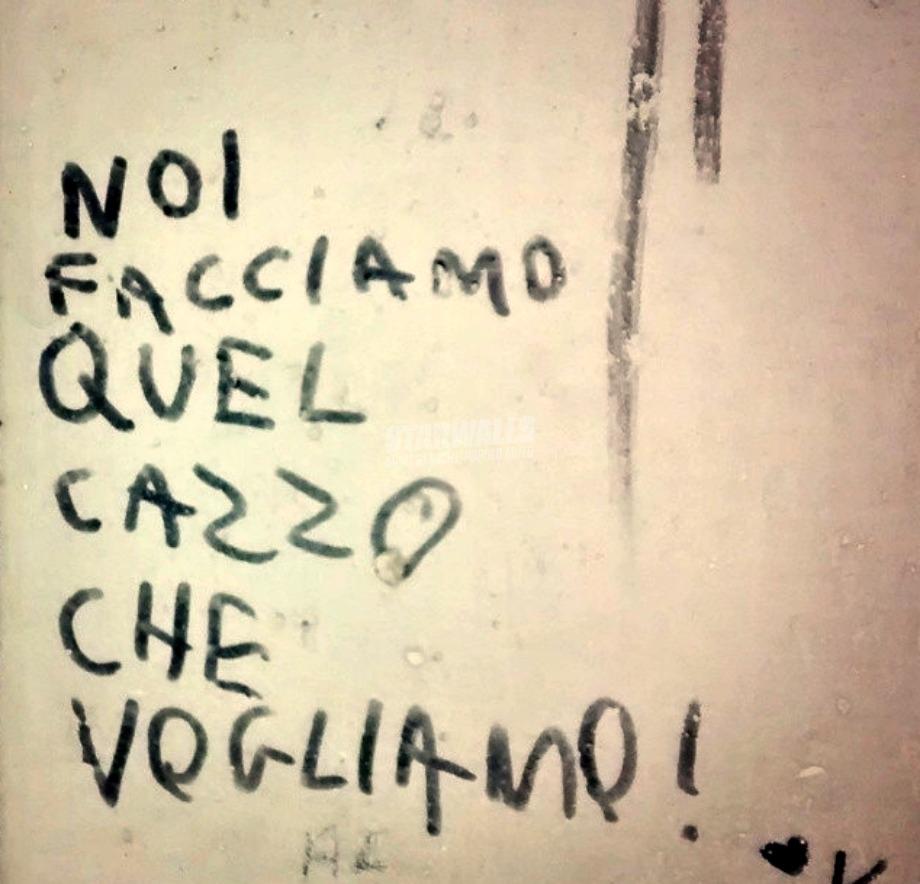 Scritte sui Muri Come ce pare