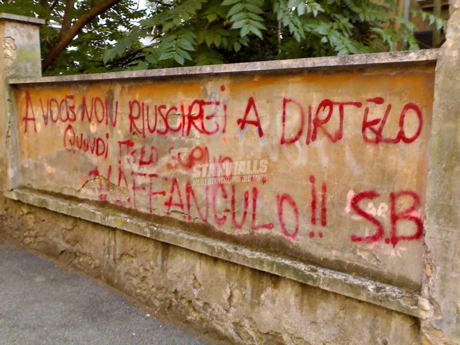 Scritte sui Muri Congedo