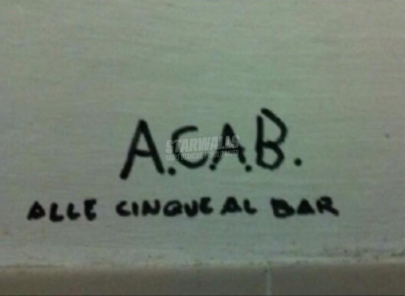 Scritte sui Muri Vai di aperitivo