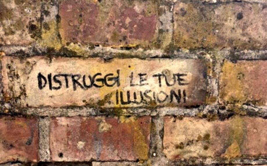 Scritte sui Muri Brutta piega