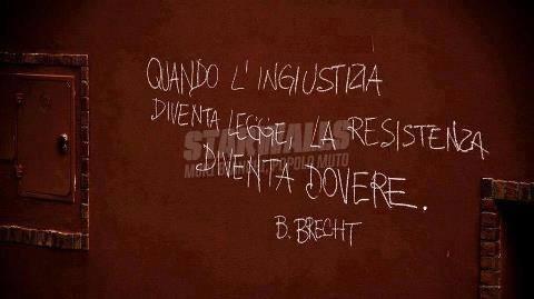 Scritte sui Muri Cit. Brecht