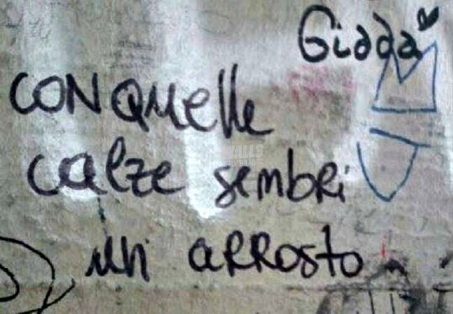 Scritte sui Muri Al forno