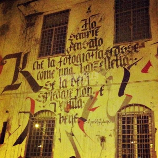 Scritte sui Muri Cit. Ansel Adams