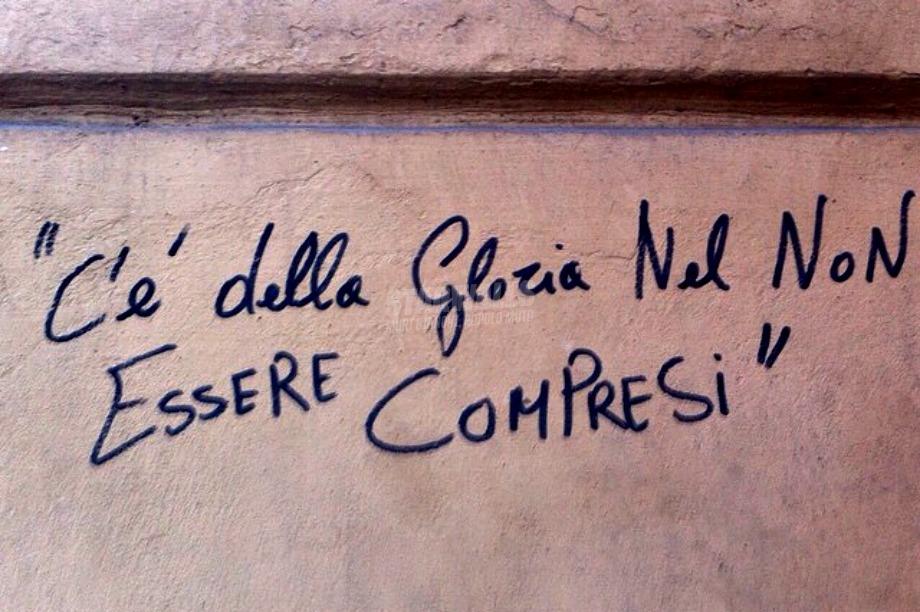 Scritte sui Muri cit. Charles Baudelaire