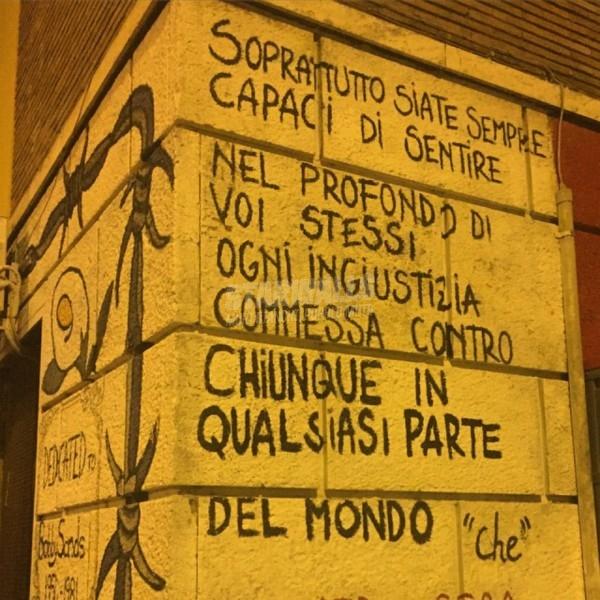 Scritte sui Muri Cit. Che Guevara