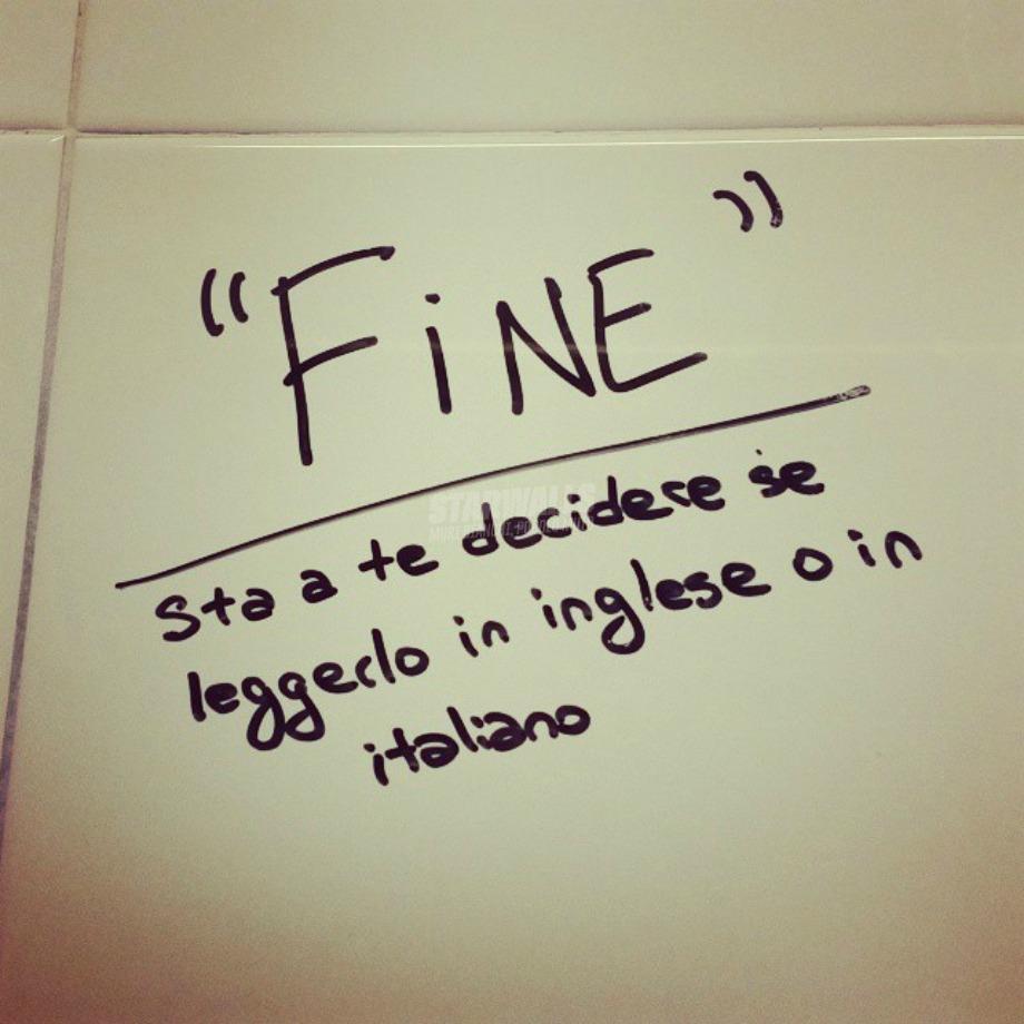 Scritte sui Muri Multi language