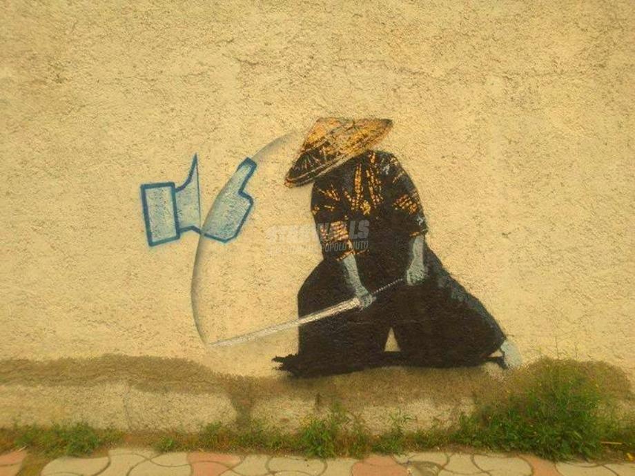 Scritte sui Muri Samurai