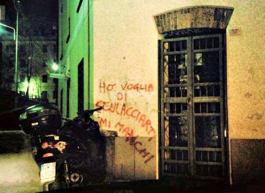 Scritte sui Muri Vieni qui