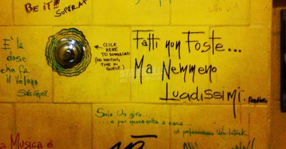 Scritte sui Muri Considerate la vostra semenza