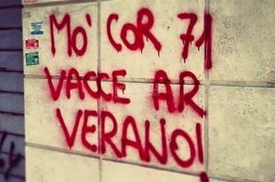 Scritte sui Muri Il derby sui muri cap. V